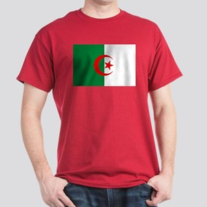 Algeria Flag Dark T-Shirt
