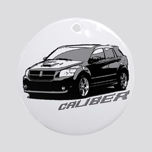 Caliber B&W Ornament (Round)