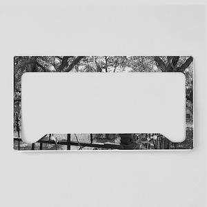 grave License Plate Holder