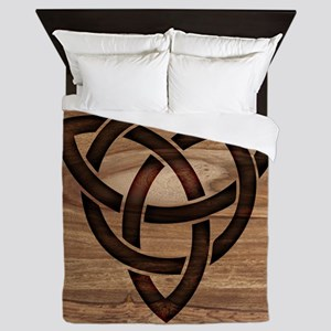 celtic knot Queen Duvet