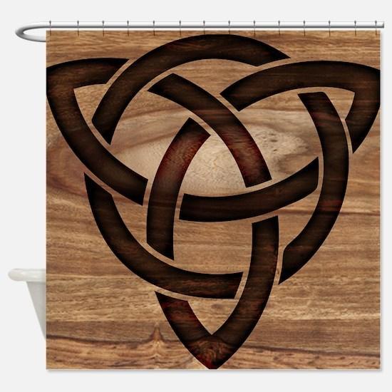 celtic knot Shower Curtain