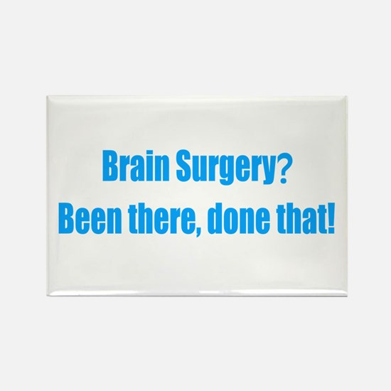 Funny Brain Surgery Rectangle Magnet
