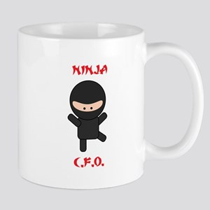 Ninja C.F.O. Mug
