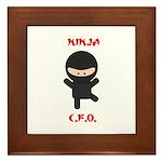 Ninja C.F.O. Framed Tile