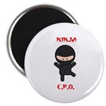 Ninja C.F.O. Magnet