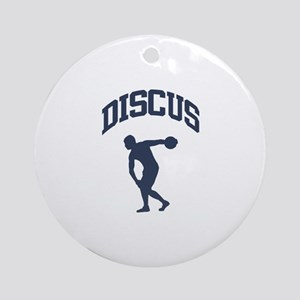 Discus Thrower Ornament (Round)