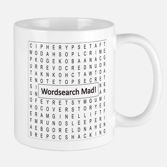 Wordsearch Mad! Mugs