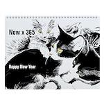 Happy Now Year Wall Calendar