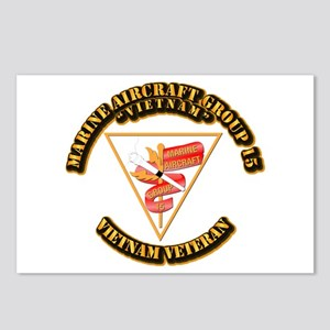 USMC - Marine Aircraft Group 15 Postcards (Package