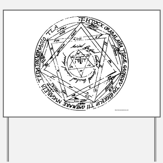 Great (or Grand) Pentacle Yard Sign