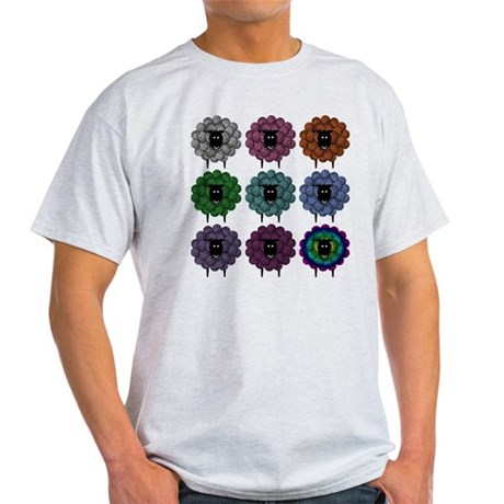 A Rainbow of Sheep T-Shirt