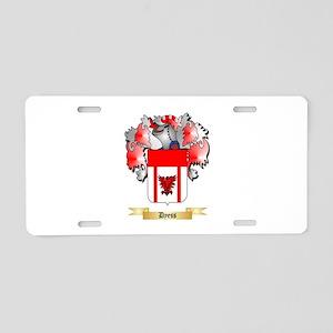 Dyess Aluminum License Plate
