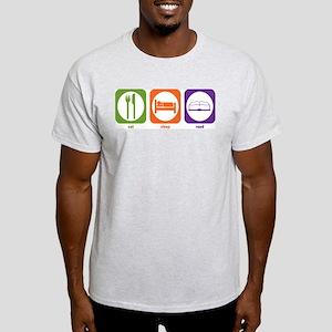 Eat Sleep Read Light T-Shirt