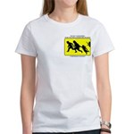 Border Crossing Sign Women's T-Shirt