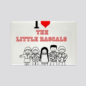 I Love The Little Rascals Magnets
