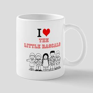 I Love The Little Rascals Mugs