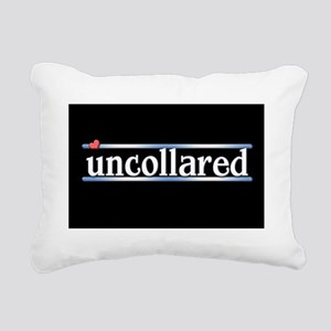 Uncollared Rectangular Canvas Pillow
