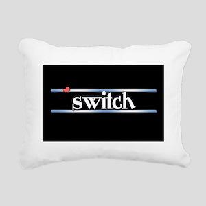Switch Rectangular Canvas Pillow