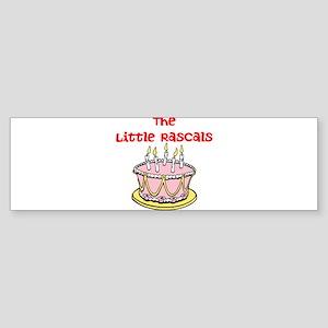 The Little Rascals Bumper Sticker