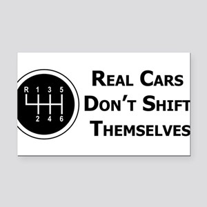 Rectangle Car Magnet