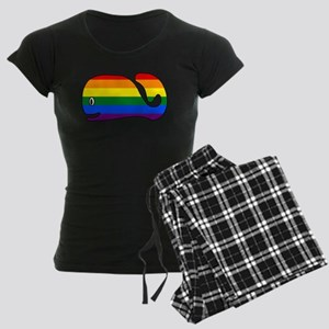 LGBT Whale of a Time! Women's Dark Pajamas