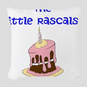 The Little Rascals Woven Throw Pillow