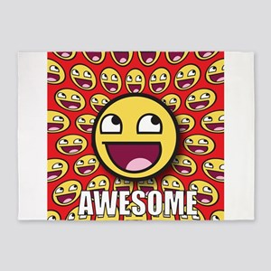 1CAFEPRESS awesome1 5'x7'Area Rug