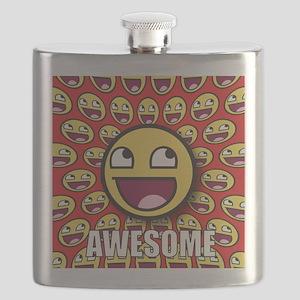 1CAFEPRESS awesome1 Flask