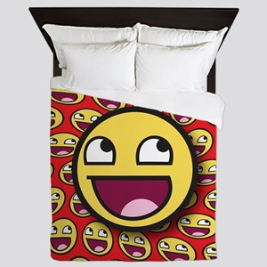 1CAFEPRESS awesome2 Queen Duvet