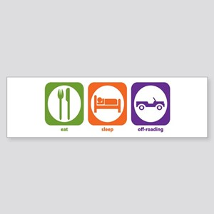 Eat Sleep Offroad Bumper Sticker