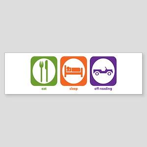 Eat Sleep Offroad Bumper Sticker
