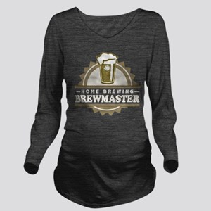 Brewmaster Home Beer Brewer Long Sleeve Maternity