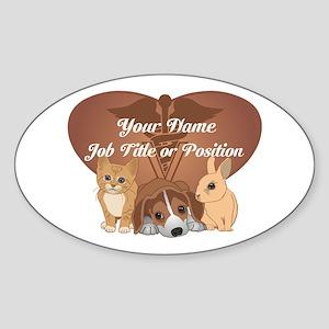 Personalized Veterinary Sticker