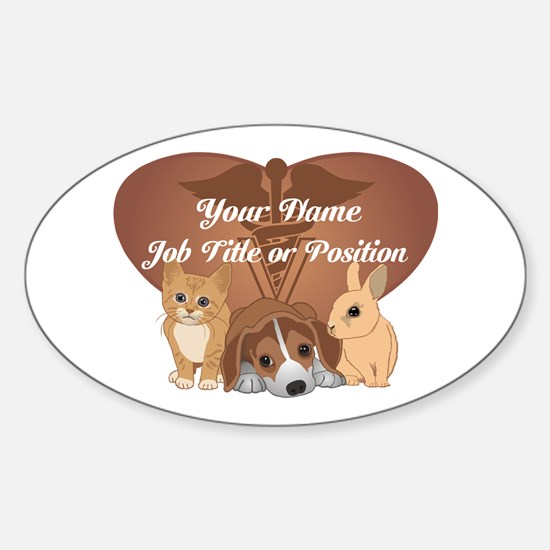 Personalized Veterinary Decal