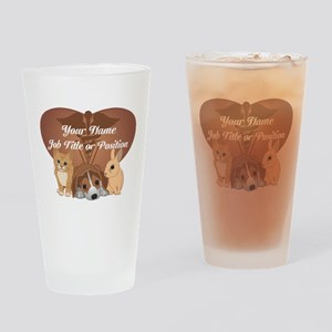 Personalized Veterinary Drinking Glass