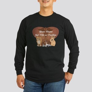 Personalized Veterinary Long Sleeve T-Shirt