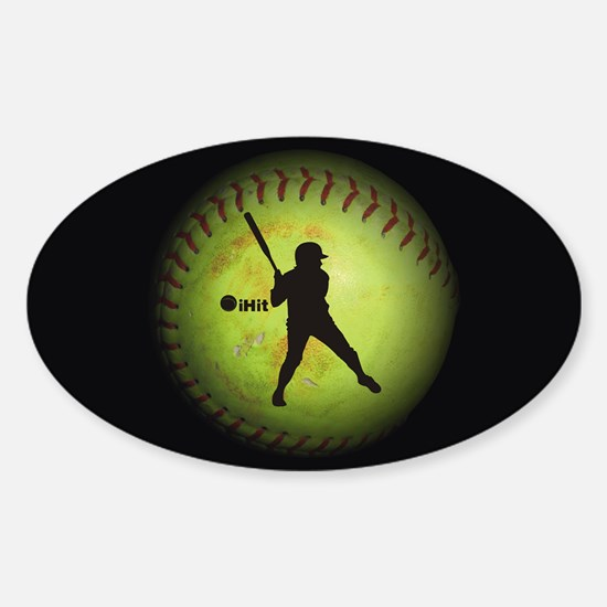 iHit Fastpitch Softball (right handed) Decal