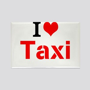 I Love Taxi Magnets