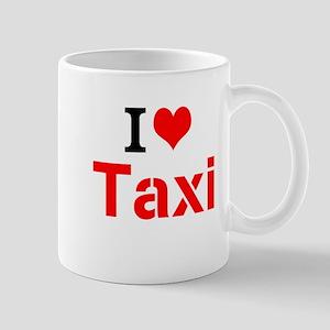 I Love Taxi Mugs