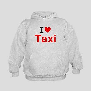 I Love Taxi Hoodie