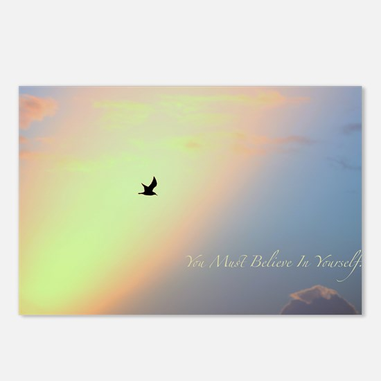 You Must Believe In Yourself. Postcards (Package o
