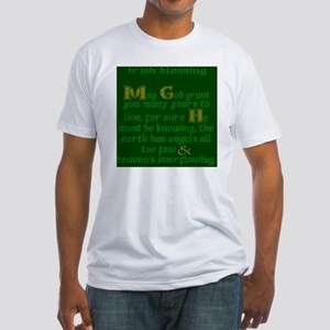 Green Angels Overflowing Fitted T-Shirt