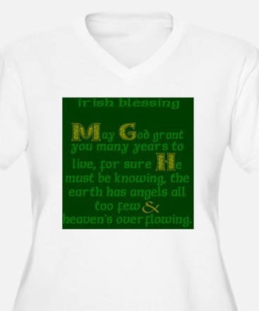 Green Angels Over T-Shirt