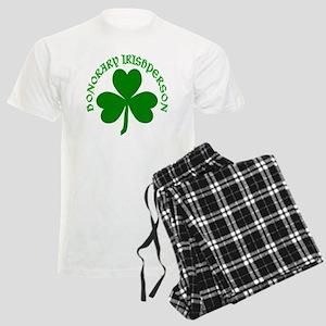 Honorary Irishperson Shamrock Men's Light Pajamas