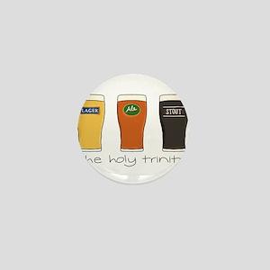 The Holy Trinity Mini Button