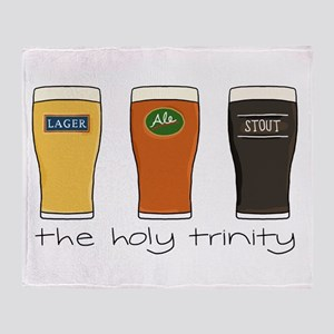 The Holy Trinity Throw Blanket