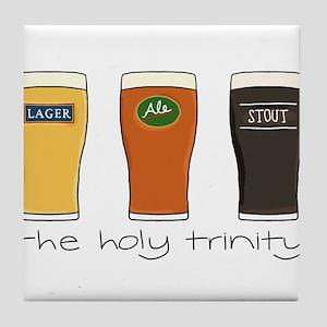 The Holy Trinity Tile Coaster