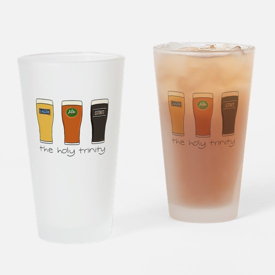 The Holy Trinity Drinking Glass