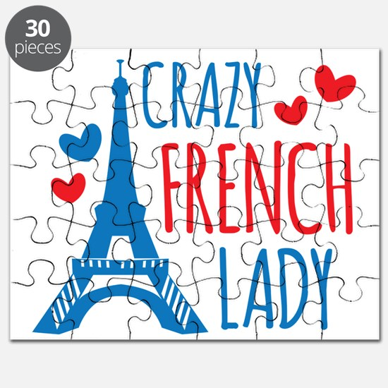 Crazy French Lady Puzzle