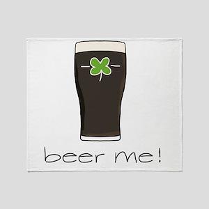 Beer Me Throw Blanket